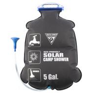 PVC Free Solar Shower - 5 Gallons, Black
