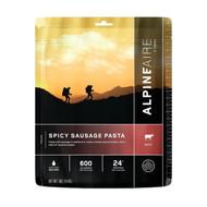 Spicy Sausage Pasta Serves 2