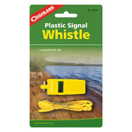 Signal Whistle Yellow Plastic