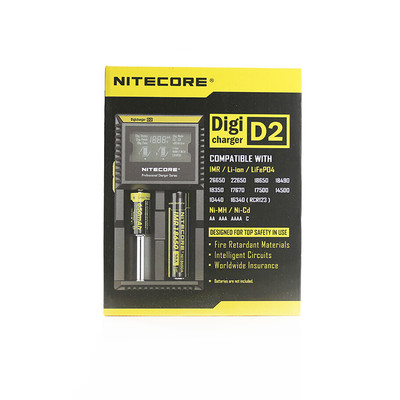Nitecore Digicharger D2 Vape Battery Charger