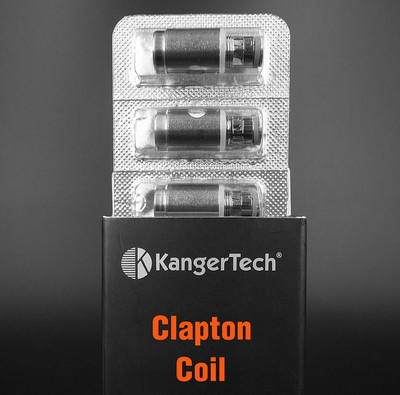 Kanger Upgrade Clapton Coil 5pk for Subtank, Nano, Topbox and Nebox Tanks