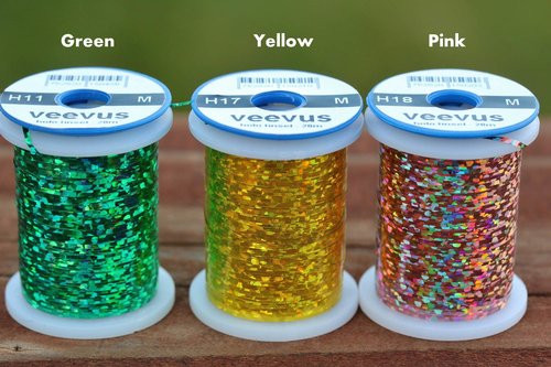 Veevus Holographic Tinsel (small and medium)