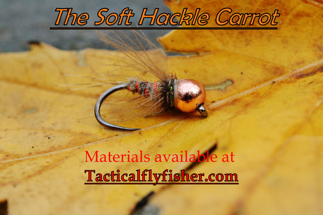 The Soft Hackle Carrot Fly Tying Tutorial