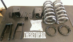 88-98 CHEVY SILVERADO 2\4 INCH LOWERING KIT (2)