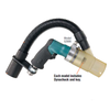 "Dynabrade 52906 - 1/4"" Drill  Central Vacuum .4 hp  3 600 RPM  Pistol-Grip  Geared  Rear Exhaust  DynaChuck"