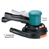 "Dynabrade 58443-6"" Dia. Two-Hand Gear-Driven Sander Central Vac .45 hp 900 RPM"