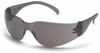 Pyramex S4120S Intruder Safety Glasses, Frame: Gray, Lens: Gray-Hardcoated (12 Pair)