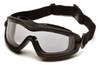 Pyramex GB6410SDT V2G Plus Goggles, Frame: Black , Lens: Dual Clear H2X Anti-Fog (12 Pair)