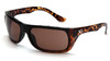 Venture Gear VGST918T Vallejo Safety Glasses Tortoise Frame with Bronze Anti-Fog Lens (1 Pair)