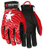 Memphis MR100 -  Multitask, Black Synthetic Leather Palm/Fingertips, Glove (1 Pair)