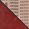 "VSM KK711Y  3""  Quick-Loc Aluminum Oxide Disc 60 Grit (100 Pack)"