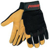 Memphis Fasguard 901M Premium Grain Deerskin Mechanic Work Gloves, Medium (1 Pair)