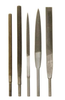 """Dynabrade 90950 - 90 mm L Round Swiss """"00"""" Very Coarse Reciprocating File 03 mm x 15 mm Long Tang"""