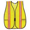 MCR Safety V200R Hi-Vis Vest Lime w/Orange/Silver Reflective Stripes (12 Pack)