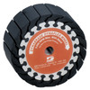 "Dynabrade 94565 - 5"" (127mm) Dia. x 2"" (51mm) W Dynaflex Expander Wheel 5/8""-11Thread For 5"" (127mm) Dia. x 2"" (51mm) W Band"