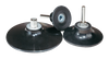 "Dynabrade 51347 3"" Locking-Type Disc Pad Medium Density 3/8""-24 Female Thread"