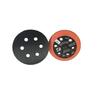 "Dynabrade 56143 - 3"" (76mm) Dia. Vacuum Disc Pad Hook-Face Long Nap 1/2"" (13mm) Thickness Rubber Medium Density 5/16""-24 Thread"