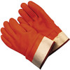 Memphis Glove 6710F Premium D/D Fluorescent Orange Color Foam-Lined Fully Coated S/Cuff, Size Lg. (12 Pair)