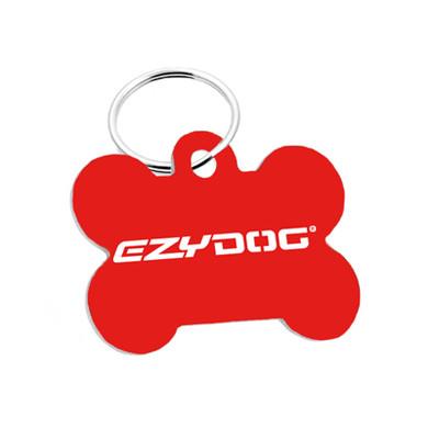 EzyDog Bone ID Tag - Back Side