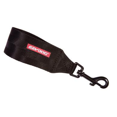 Black - (Front) - EzyDog Seat Belt Restraint