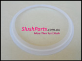 CIHAN Slush Machine - Rear White Bowl Seal