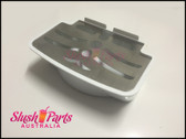 CIHAN - Plastic White Drip Tray And Metal Grate