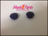 """CAB Faby - Evaporator Support Screw \""""Hide\"""" Covers - Blue Pair"""