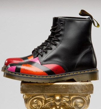 "Custom Dr. Martens ""Division"" Boot"