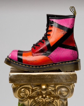 "Custom Dr. Martens ""Division"" Boot (women)"