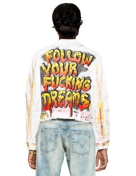Drippy Follow Your Fucking Dreams Jacket