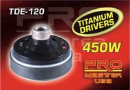 TWEETER DRIVER TDE-120