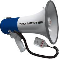 "9.5"" MEGAPHONE WITH RECORDER  TMC-2501R"