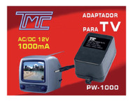 12V AC/DC Adapter, 1000mA  PW-1000