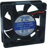 "2.36"" Slim Fan 12VDC  F60MS"