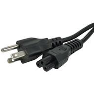 18awg, 6ft Laptop AC Power Cord  AC-543