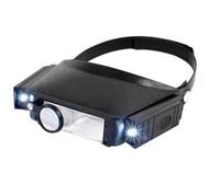 LED Head Magnifier + Lamp  TMC-9002LED