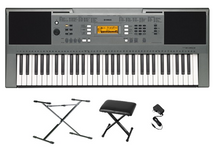 Yamaha PSR-E353 Keyboard Value Package - Bajo