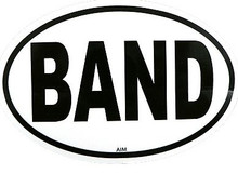 Sticker Band Oval