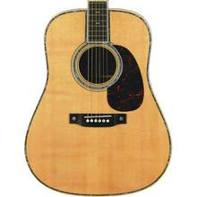 Mouse Pad Acoustic Guitar Die Cut