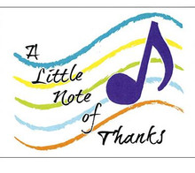 Cards Plain Notes Of Thanks 4.25x5.58 8/Box