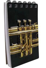 Notebook 3D Trumpet