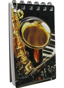 Notebook 3D Sax Keyboard