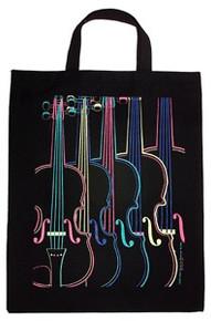 Tote Bag Four Color Violin XL
