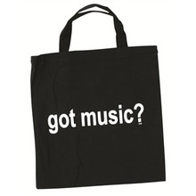 Bag GOT Music Tote Black