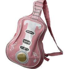 Handbag Guitar Notes LT PINK
