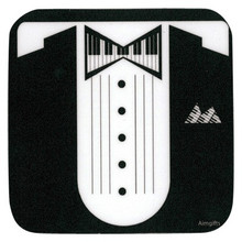 Coaster Keyboard Tux
