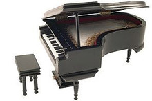 Miniature Grand Piano Replica
