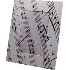 Photo Frame Music Paper 4 x 6