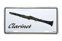 License Plate Clarinet