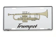 License Plate Trumpet